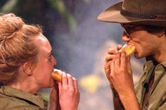George Shelley and Jorgie Porter (I'm a celebrity get me out of here doughnuts, cute ,November 22 2015 George Shelley, Jorgie Porter, Reality Tv Shows, Digital Magazine, Celebs, Celebrities, Role Models, Youtubers, Doughnuts