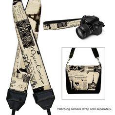 Padded Camera Bag DSLR Camera Bag SLR Camera by janinekingdesigns, $89.99