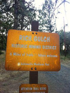 #Historic #Jacksonville #Oregon #Rich #Gulch #Mining #District