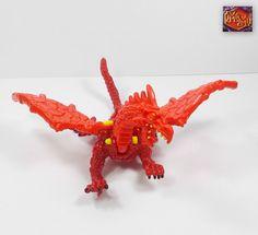 Mighty Max Storms Dragon Island - Necrosaur Dragon - Bluebird Toys 1993 (10)