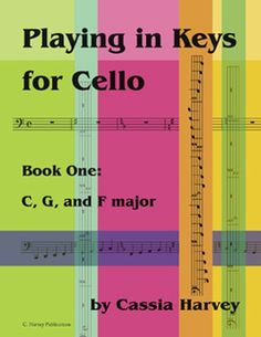 Playing in Keys for Cello, Book One Music Theory, Cello, Bar Chart, Keys, Periodic Table, Hobbies, Study, Play, Books