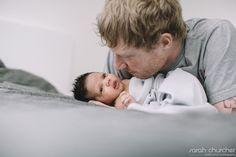 3 + 1 = A new family of 4 | Sarah Churcher #newborn #treasure #love #family #fatherhood #connection