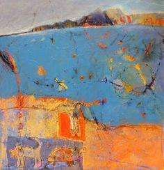 Maud Quaedvlieg . Who never got lost with me 2, Acrylics on linen, 60 x 60 cm, 2011
