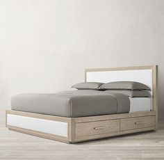 Which Bed Sheets Are The Coolest Info: 2630967836 Fabric Storage, Bed Storage, Fabric Boxes, Fabric Basket, Storage Drawers, Bed Designs With Storage, Camas King, Bedroom Bed Design, Master Bedroom