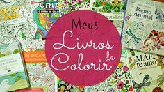 Meus livros de colorir!