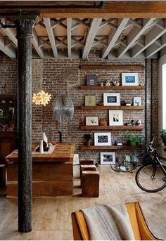 Adoro!   São rústicos e contemporâneos, combinam perfeitamente com madeira e ferro e têm um tempero urbano irresistível - não lembram aquel...