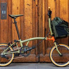 Unleash your inner adventurer with the Brompton Explore Carters Baby Girl, Baby Girls, Bicicleta Brompton, Touring Bicycles, Folding Bicycle, Toys For Boys, Bike Accessories, Cycling Bikes, Bike Life