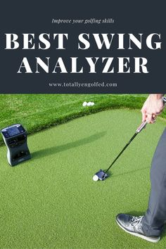 At the course, you need an analyzer that feels convenient to use and offers accurate results. With so many models on the market today, it can be challenging to pick a model that meets your needs. Our golf swing analyzer reviews should help make the choice easier for you. Golf Swing Analyzer, Outdoor Power Equipment, Helpful Hints, Improve Yourself, Feels, Model, Useful Tips, Scale Model