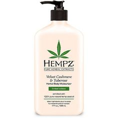 Hempz Age Defying Herbal Moisturizer is an all-day herbal body lotion that helps skin appear smoother and firmer, and reduces the appearance of fine lines and wrinkles while providing dramatic rehydration through the use of pure Hemp Seed Oil and Extract. Best Body Moisturizer, Tinted Moisturizer, Natural Moisturizer, Hempz Lotion, Taning Lotion, Facial Lotion, Organic Hemp Seeds, Best Lotion, Herbal Extracts