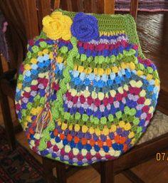 Eclectic granny bag