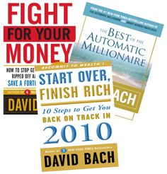 eBooks helping people to look after their finances – including the Automatic Millionaire.