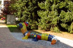 Gardens of nurseries - design and realization