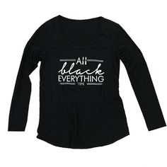 ALL BLACK EVERYTHING TEE – TIME LOS ANGELES