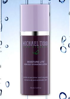 MOISTURE LITE by Micheal Todd. I received this moisturizer and I'm about to try it for the first time.