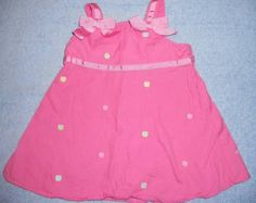 Gymboree pink An Apple a Day Sun Dress Sz 0-3 M 3.99 - Big 20% off sale on almost all store inventory!!