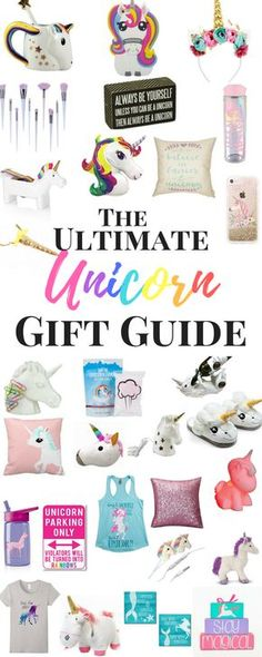 Gift Guide for Unicorn Lovers #UnicornLover some of this stuff I have