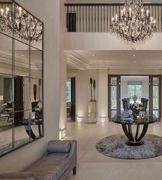 Perfect Living Room Design Ideas For Luxurious Home - Home Decor Living Room Modern Interior Design Minimalist, Modern Home Interior Design, Luxury Homes Interior, Luxury Home Decor, Hall Interior, Contemporary Interior, Design Loft, House Design, Lobby Design
