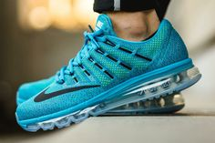 Nike Air Max 2016: Lagoon Blue. Great for fitness or daily life shoes and look dope