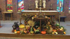 Thanksgiving Altar 2015