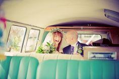 Vintage VW Camper Van - Wedding Car