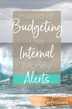 Money Management Tips + Ideas | Tired of being told you need a budget? I've got another way for you manage your personal finance. | http://www.frugalconfessions.com/financial-health/adjust-your-internal-sensors-to-trigger-financial-alerts-at-lower-thresholds.php