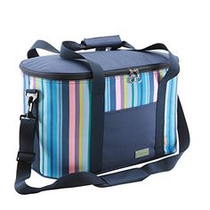 Yodo 25L Collapsible Soft Cooler Bag - Insulated up to 4 - 6 hours, Roomy for Family Reunion, Party, Beach, Picnics, Sporting Music Events, Everyday Meals to Work - Yodo Collapsible Soft Sided Family Cooler Bag Features: Spacious cooler compartment keep foods and drinks cool or warm up to 4 -6 hours. Heat-welded seams prevent flexible beverage leaksLuxury Aluminum foil lining meet FDA testing for foods. Soft & Collapsible Body for saving space. Perfect for s...