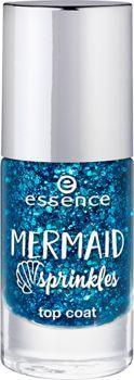 mermaid sprinkles top coat 38 somewhere beyond the sea - essence cosmetics