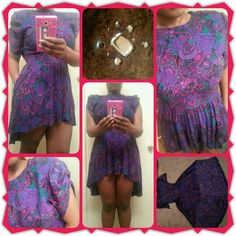 diy dress reconstruction