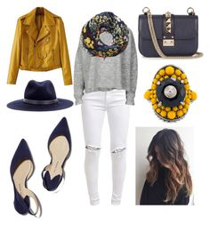 """""""FALL yellow 💛"""" by noah0421 on Polyvore featuring FiveUnits, Designers Remix, MANGO, Valentino, Paul Andrew, rag & bone and Gucci"""