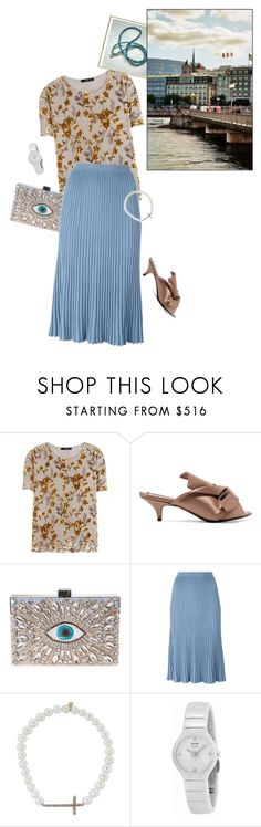 """""""Travel destination: Lady to Geneva"""" by olivia-stones ❤ liked on Polyvore featuring Etro, N°21, GEDEBE, Christian Wijnants, Sydney Evan, Rado, finepearls and authentico"""