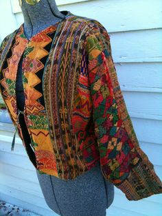 Vintage Bohemian Moroccan Patchwork Jacket by Gregarianne on Etsy