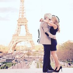 There's no better place I would rather be than in your arms in Paris.
