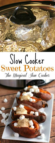 Slow Cooker Sweet Po