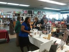 "Authors Trina Bradford Phillips, Catherine Leggitt, Hans Berger, and Lori Polk at Vine & Branches ""Meet The Authors Open House"", Lodi Ca."