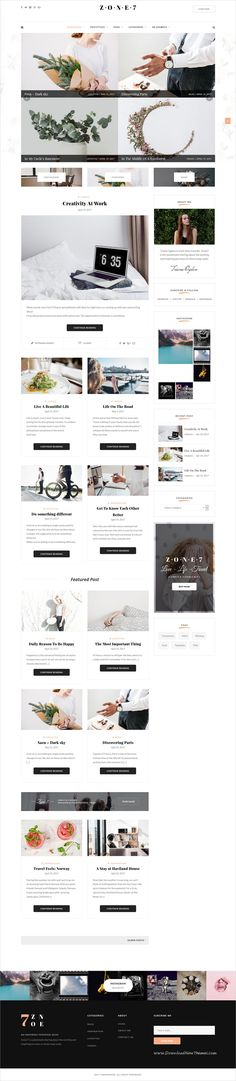 Zone 7 is an elegant and modern design responsive #WordPress #blog theme for creative #writer and bloggers website download now > https://themeforest.net/item/zone-7-an-elegant-and-modern-blog-wordpress-theme/19789472?ref=Datasata