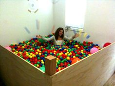 Ball Pit: I don't think there is need to say how absolutely awesome this is.