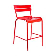 Verlaine Stool — Calling all Francophiles! Our Verlaine Stool adds the perfect dash of cafe life-charm to outdoor living.