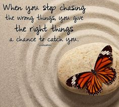 when you stop chasing the wrong things life quotes quotes quote life quote Inspirational Quotes About Success, Meaningful Quotes, Success Quotes, Motivational Quotes, Inspiring Quotes, Mindset Quotes, Reality Quotes, Positive Attitude, Positive Quotes
