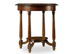 Shop for Hooker Furniture Round Accent Table, 500-50-829, and other Living Room Tables at Hickory Furniture Mart in Hickory, NC. The Round Accent Table is an exquisite table that features a bottom shelf, which is ideal for displaying a favorite keepsake.
