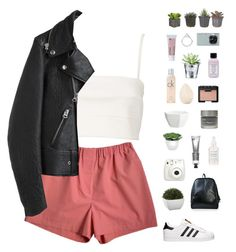 """""""Bandeau"""" by f-resh ❤ liked on Polyvore featuring Witchery, adidas, Acne Studios, hif, Crate and Barrel, Fujifilm, Torre & Tagus, CB2, Bliss and NARS Cosmetics"""