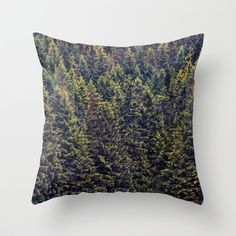 The Landscape Is Changing Throw Pillow $20