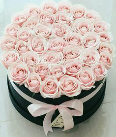 The gift for someone special 🌸 DM for the order Luxury Flowers, My Flower, Fresh Flowers, Pretty Flowers, Bouquet Box, Gift Bouquet, Pink Roses, Pink Flowers, Order Flowers