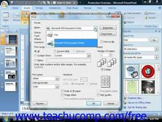 Learn how to print in Microsoft PowerPoint at www.teachUcomp.com. Get the complete tutorial FREE at http://www.teachucomp.com/free - the most comprehensive PowerPoint tutorial available. Visit us today!