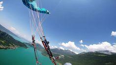 Paragliding 2015 France Chamonix, Paragliding, France, Fair Grounds, Travel, Image, Viajes, Destinations, Traveling