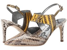 Finish off your look with an exotic touch courtesy of the Sam Edelman Ola  heels, on sale here: