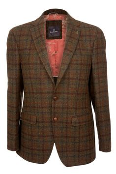 Barutti Focus Harris Tweed Jacket at The Harris Tweed Company Grosebay - Exclusive Harris Tweed