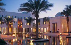 Chedi Muscat. its amazing everything is incredible. beautiful views and quiet. the spa is really good too .