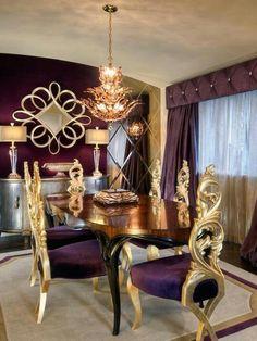 GOLD Décor: HOME                                         or décor à la maison (@#LittleBearProd)
