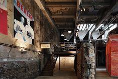 Interior of Restaurant La Soupe Populaire in Berlin, Remodelista