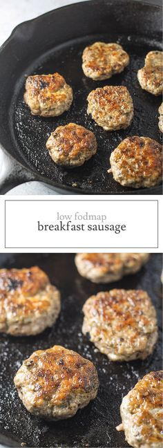 Gluten free and Whole 30 Compliant, this Low Fodmap Breakfast Sausage recipe offers classic breakfast flavor without the garlic or onion powder! mama world recipes Yummy Recipes, Gluten Free Recipes, Diet Recipes, Cooking Recipes, Stevia Recipes, Nutribullet Recipes, Yummy Food, Smoothie Recipes, Vegetarian Recipes